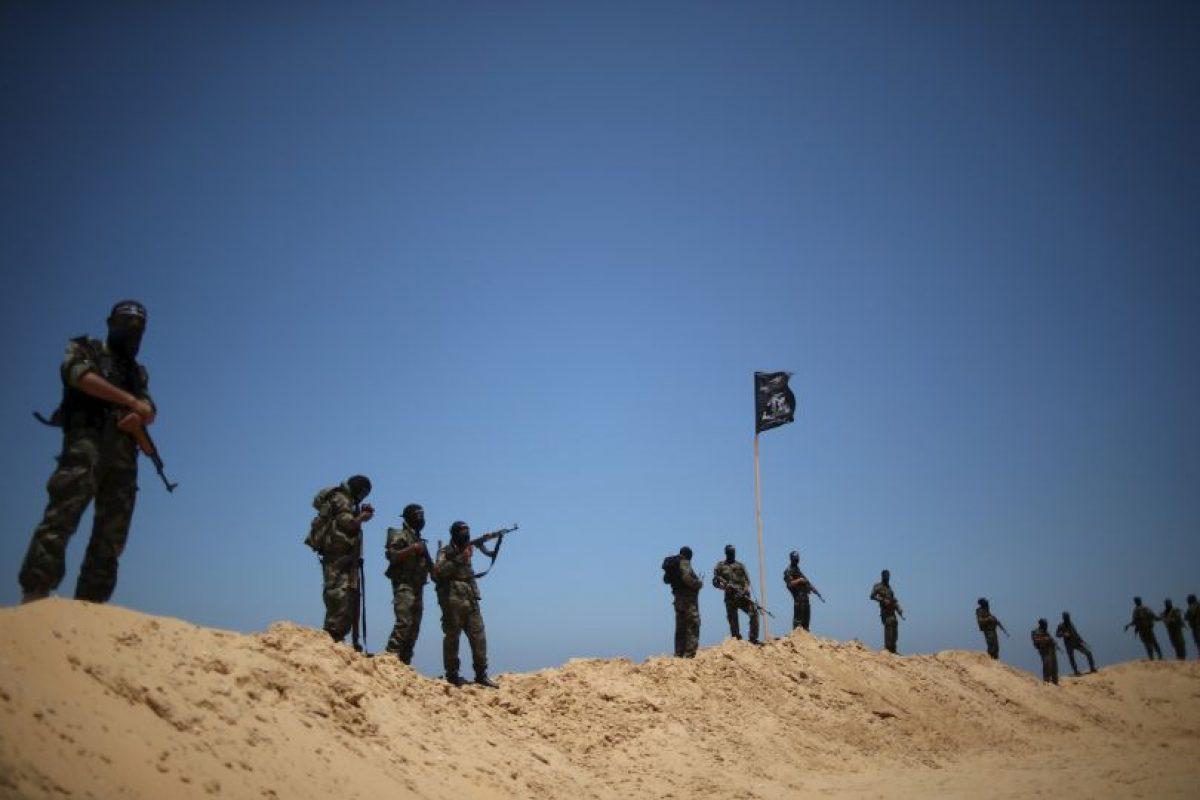 El texto responsabiliza al bloqueo israelí y las operaciones militares en la zona Foto:Getty Images. Imagen Por: