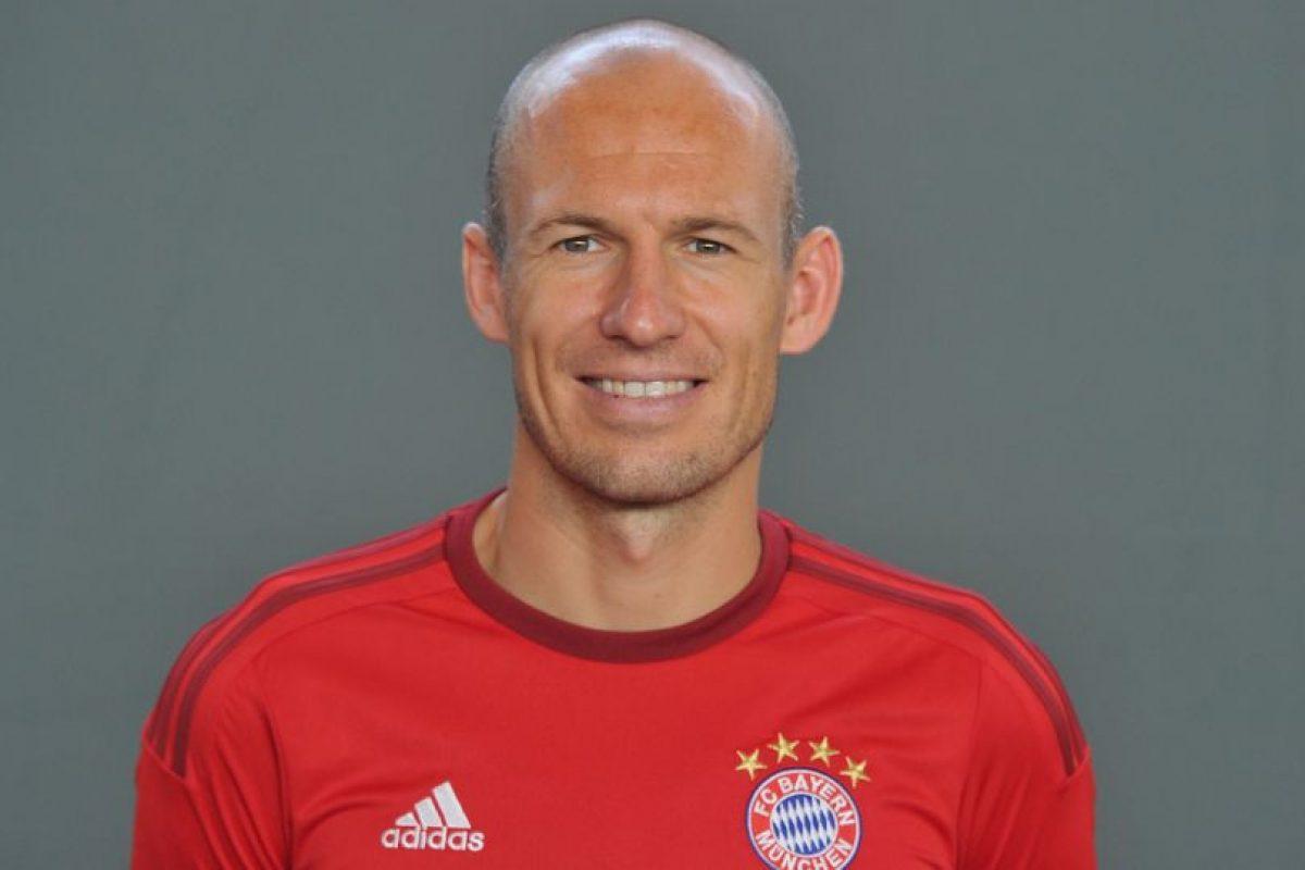 El holandés tiene 31 años y desde 2009 juega para el Bayern Munich. Foto:Getty Images. Imagen Por:
