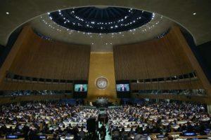 Este lunes ambos mandatarios se presentaron frente la Asamblea General de las Naciones Unidas. Foto:Getty Images. Imagen Por: