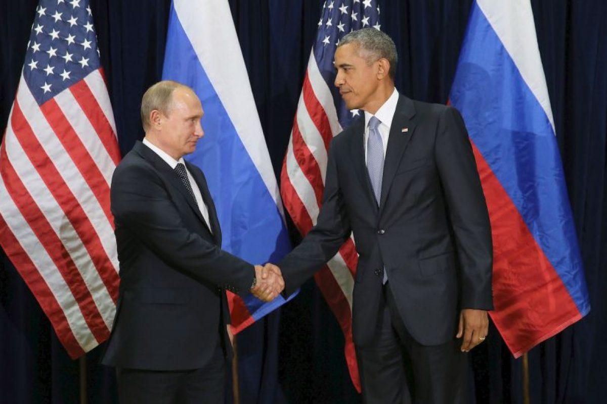 A pesar de sus diferencias los mandatarios tuvieron una reunión bilateral por la tarde, tiempo del este. Foto:Getty Images. Imagen Por: