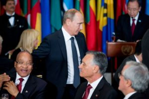 Ambos habían dado sus discursos respecto al conflicto en Siria. Foto:AP. Imagen Por: