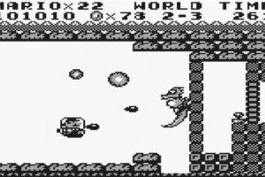 """Supermario Land (1989): El primer """"Supermario"""" que salió en Game Boy y vendió 18 millones de copias. Toda la exquisitez del juego original.. Imagen Por:"""