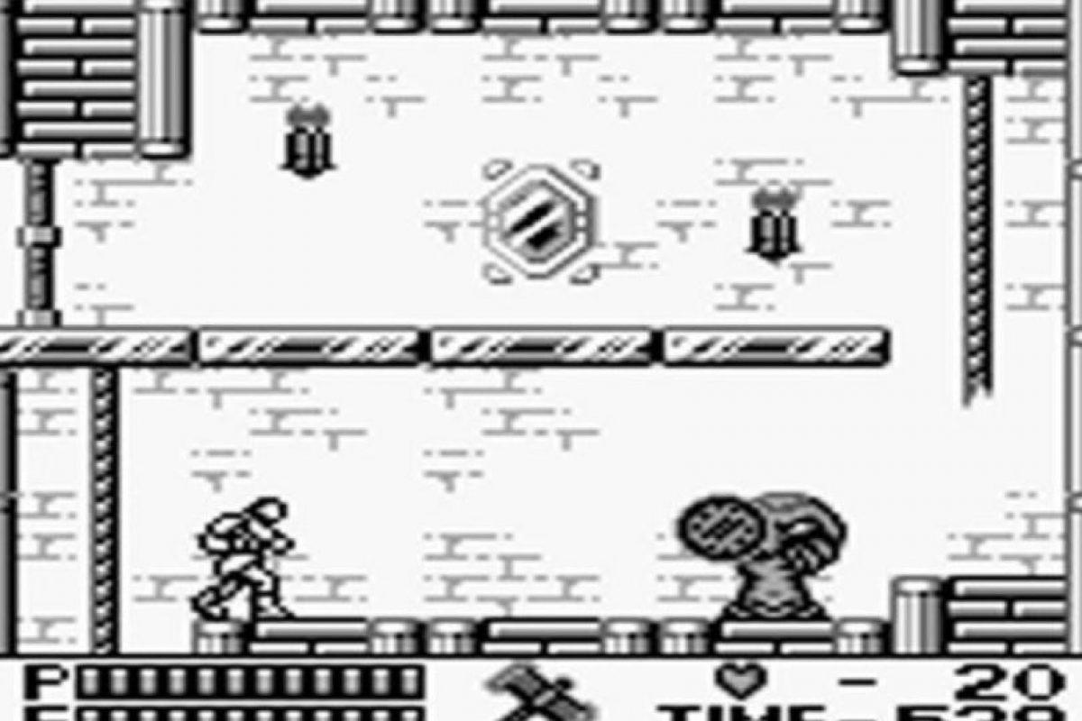 Castlevania II: Belmont´s Revenge (1990) El segundo título de esta saga, con mejoradas opciones de acción para el jugador. Foto:vía GameFaqs.. Imagen Por: