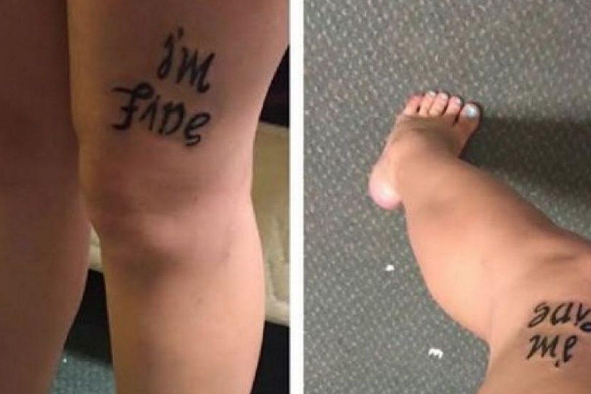 Su nombre es Bekah Miles, vive en Oregón y decidió hacerse un tatuaje recientemente. Sin embargo, dicho tatuaje resultó muy especial tanto para amigos como otras personas en todo el mundo, ya que se han identificado con él. Foto:Vía Facebook. Imagen Por: