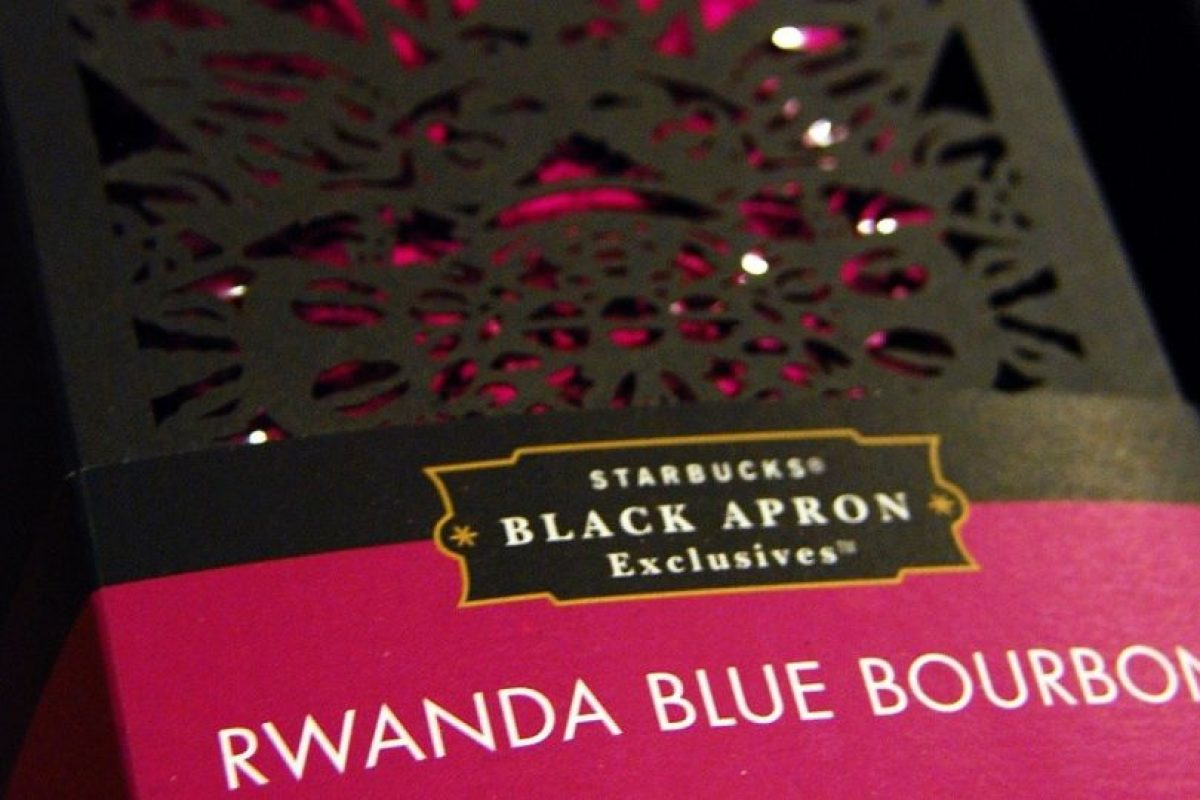 El Ruanda Blue Bourbon fue lanzado hace 10 años por Starbucks y es uno de los mejores cafés africanos. Foto:vía Starbucks. Imagen Por: