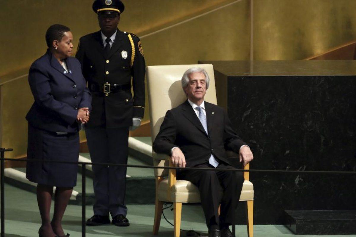 Tabaré Vázquez, presidente de Uruguay Foto:AP. Imagen Por: