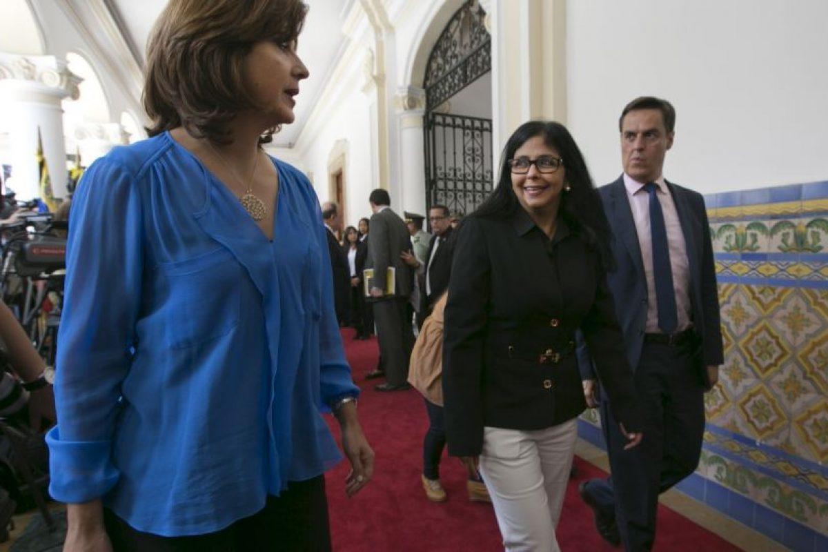 La canciller colombiana María Ángela Holguín se mostró sorprendida ante la actuación de Managua Foto:AP. Imagen Por: