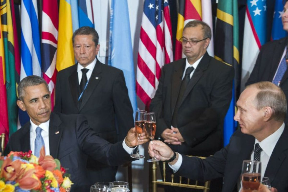 Y sugirió que Rusia se debería hacer cargo del conflicto en Siria. Foto:AFP. Imagen Por: