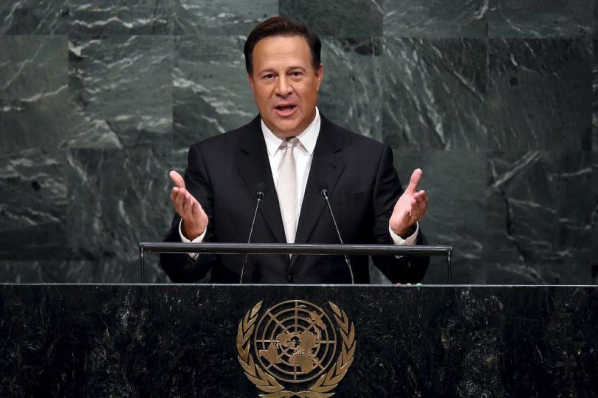 """""""Panamá no escapa de los flujos migratorios irregulares de seres huamnos escapando de la guerra y buscando un mejor futuro"""", dijo en su intervención en el pleno. Foto:AFP. Imagen Por:"""