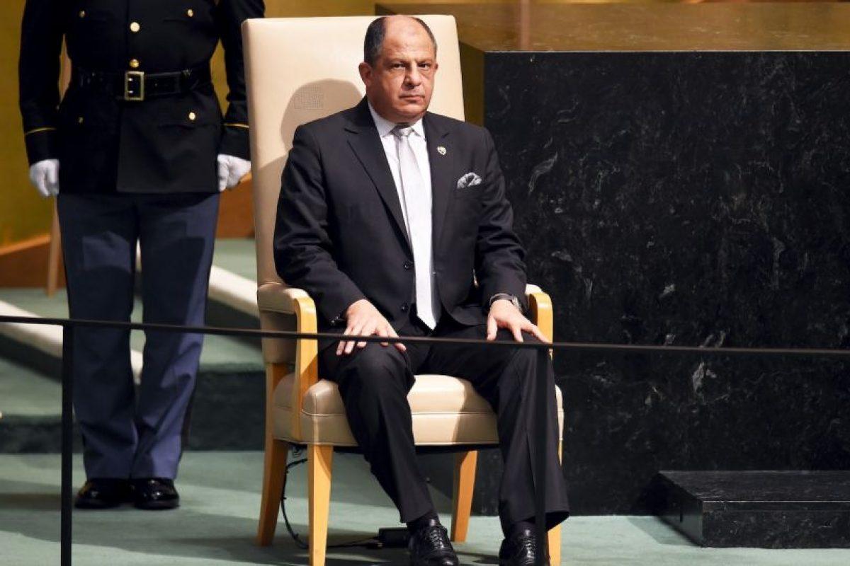 Luis Guillermo Solís Rivera, presidente de Costa Rica Foto:AFP. Imagen Por: