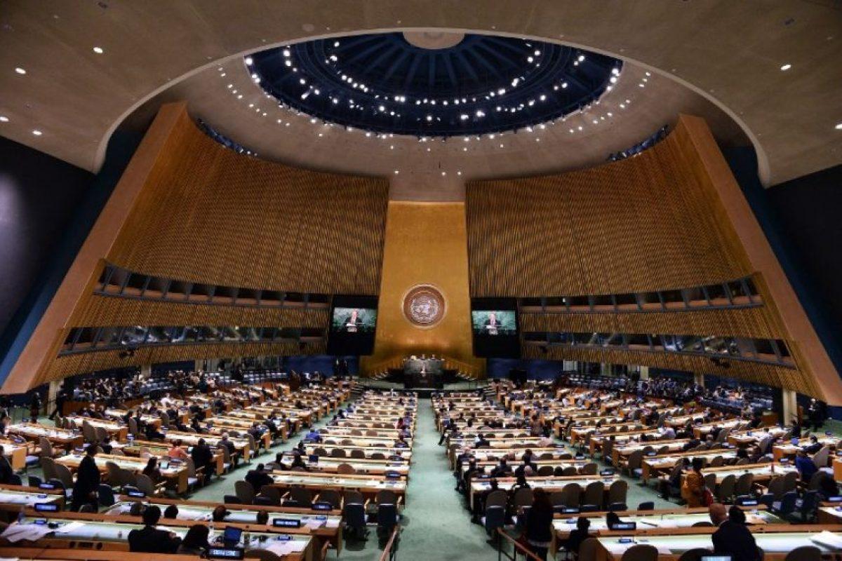 """Quien pidió a los demás países """"reconocer a Palestina"""". Foto:AFP. Imagen Por:"""