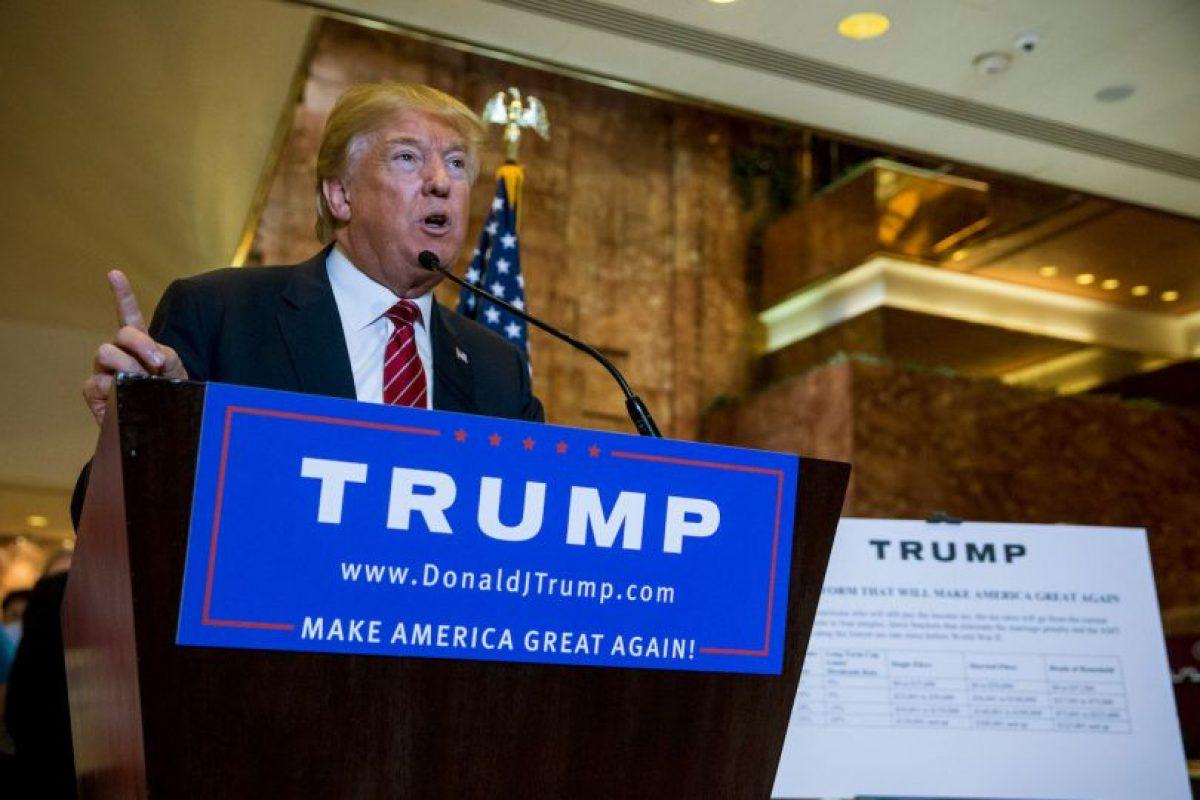 El precandidato estadounidense Donald Trump respalda al presidente ruso Vladimir Putin respecto a la guerra en Siria. Foto:AFP. Imagen Por: