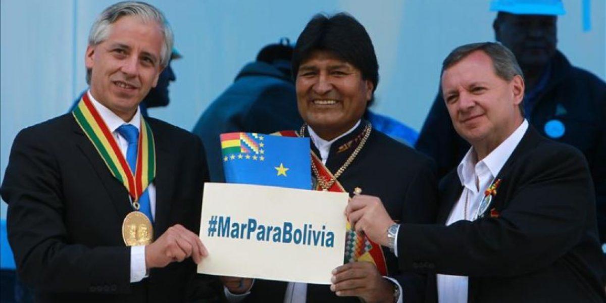 Bolivia inicia campaña en EE.UU. para sumar apoyo a demanda marítima