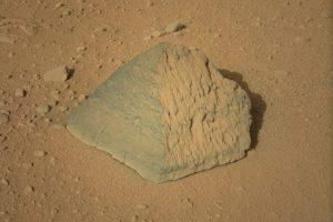 El misterio de la roca. La misma roca, en una imagen en color. Foto:Foto reproducida. Imagen Por: