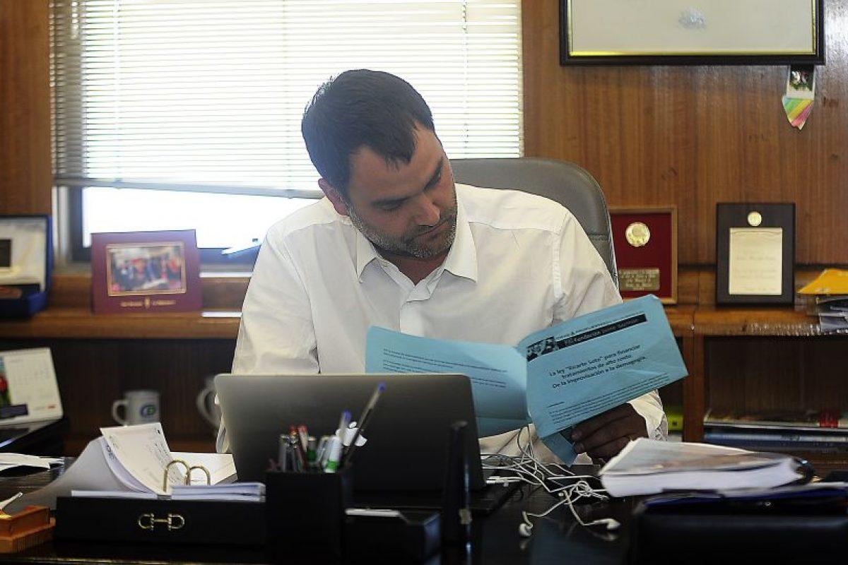 Javier Macaya, el parlamentario que interpelará a la ministra. Foto:Agencia Uno. Imagen Por: