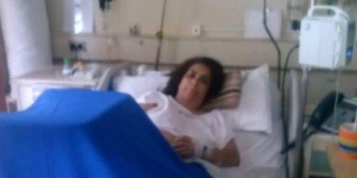 Mujer perdió parte de una pierna tras ser mordida por un perro