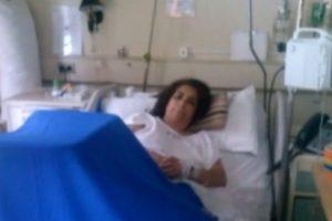 La mujer afectada Foto:Reproducción / Canal 24 Horas. Imagen Por: