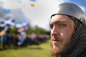 Celebraciones en honor a William Wallace en Escocia Foto:Getty Images. Imagen Por: