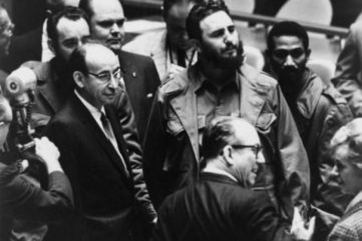 3. Fidel Castro en 1960, Primer Ministro de Cuba Foto:Wikimedia. Imagen Por: