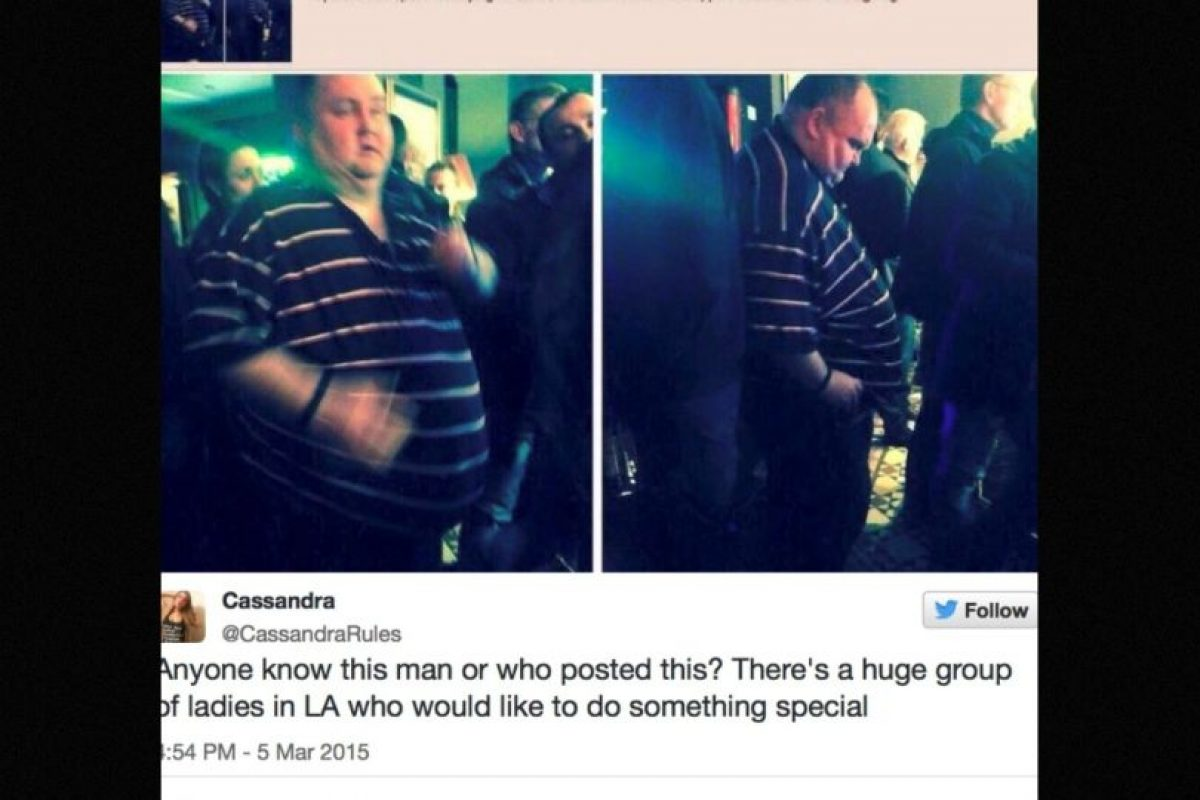 En sitios como 4Chan, usuarios de redes sociales se burlaron de este hombre por ser gordo y querer bailar Foto:Twitter.com – Archivo. Imagen Por: