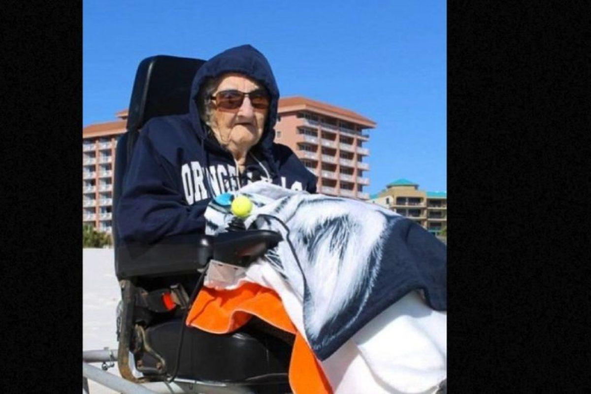 Esta anciana de 100 años vio el mar por primera vez Foto:Perdido Beach Resort. Imagen Por: