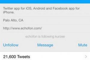Su manejo es sencillo, prácticamente con las mismas funciones que la app oficial de Twitter. Foto:Echofon. Imagen Por: