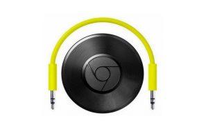 Con este gadget podrán enviar la música que escuchan en sus dispositivos al o cualquier equipo de sonido. La conexión es vía Wi-Fi Foto:Google. Imagen Por: