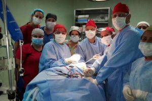 La operación duró aproximadamente 14 horas. Imagen Por: