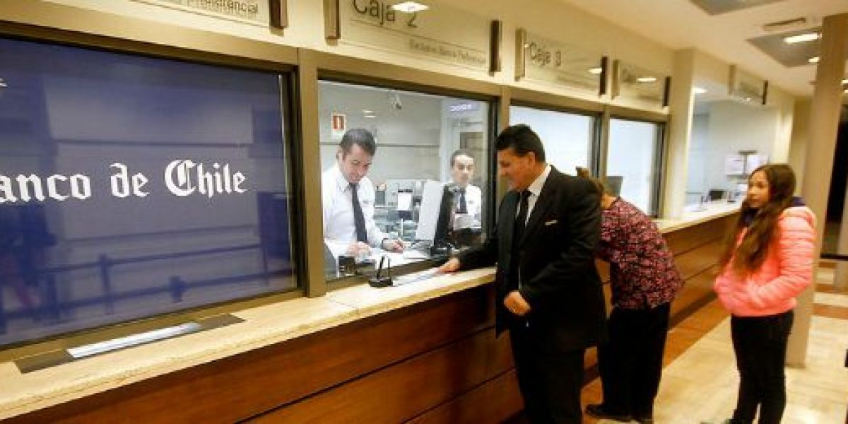 Ganancias de bancos caen 11,89% y llegan a US$2.106,2 millones en agosto