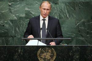 Quien declaró ante la ONU que brindaró apoyo a Bashar Assad durante la guerra contra ISIS. Foto:Getty Images. Imagen Por: