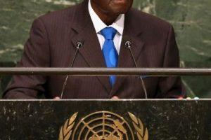 Robert Mugabe, presidente de Zimbabwe, 2015 Foto:Getty Images. Imagen Por: