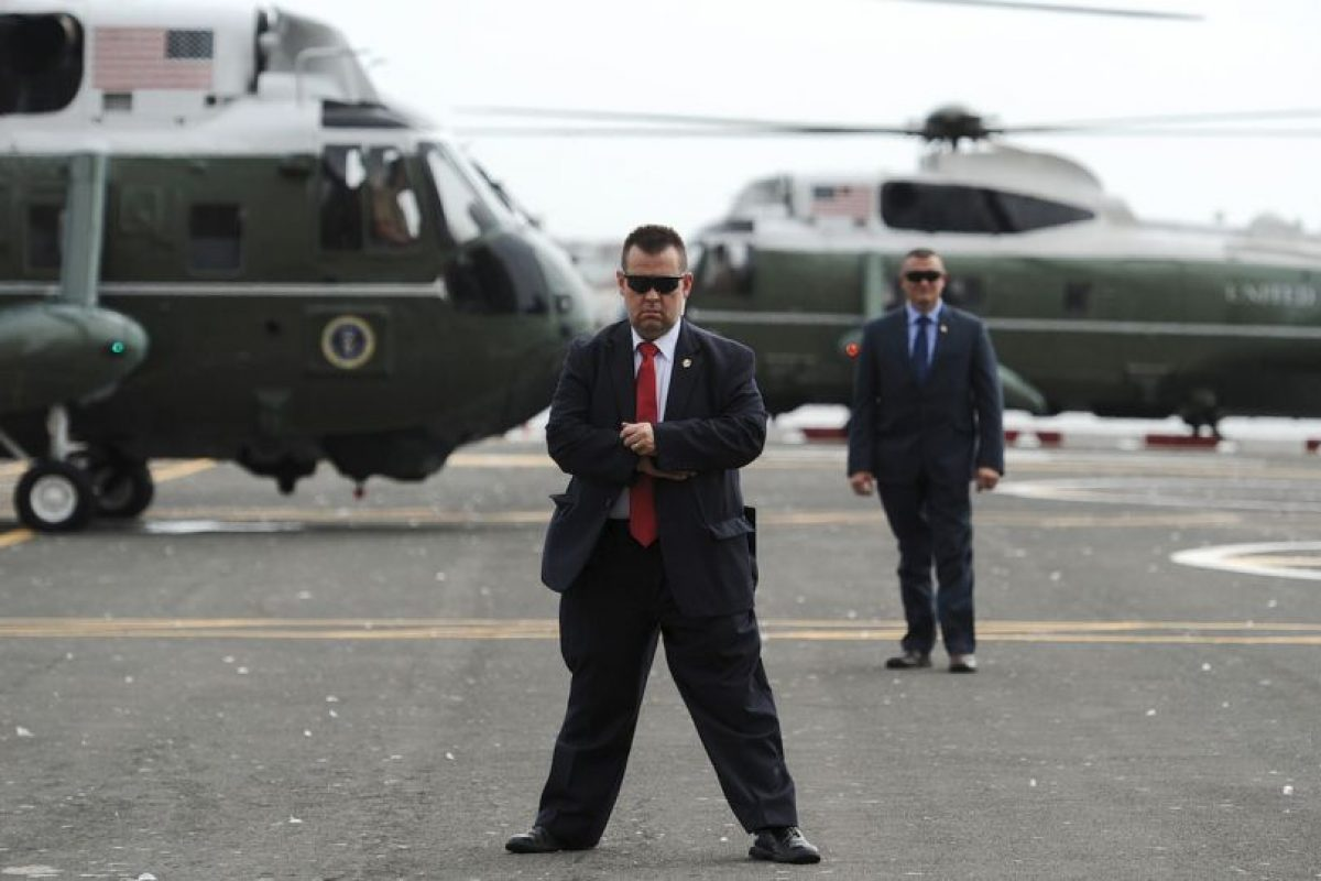 Equipo de seguridad de los Obama a su salida de Nueva York. Foto:Getty Images. Imagen Por:
