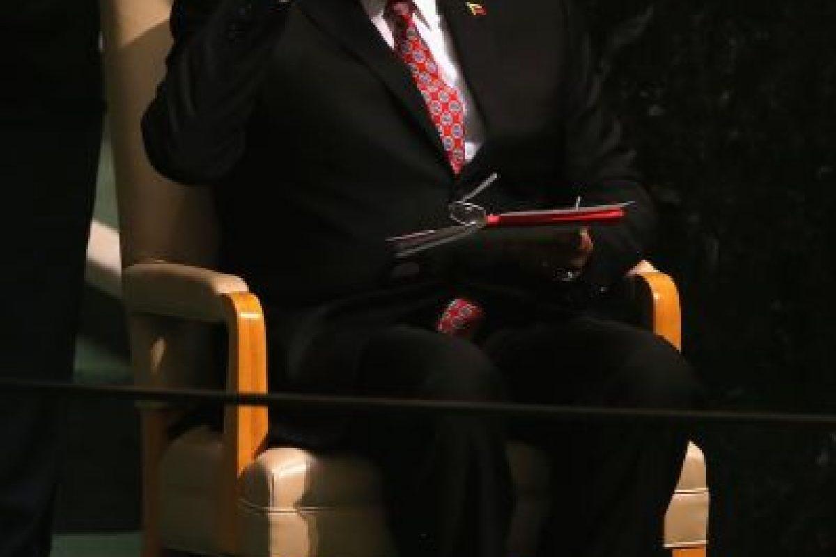 El presidente de Venezuela, Nicolás Maduro durante su discurso. Foto:Getty Images. Imagen Por: