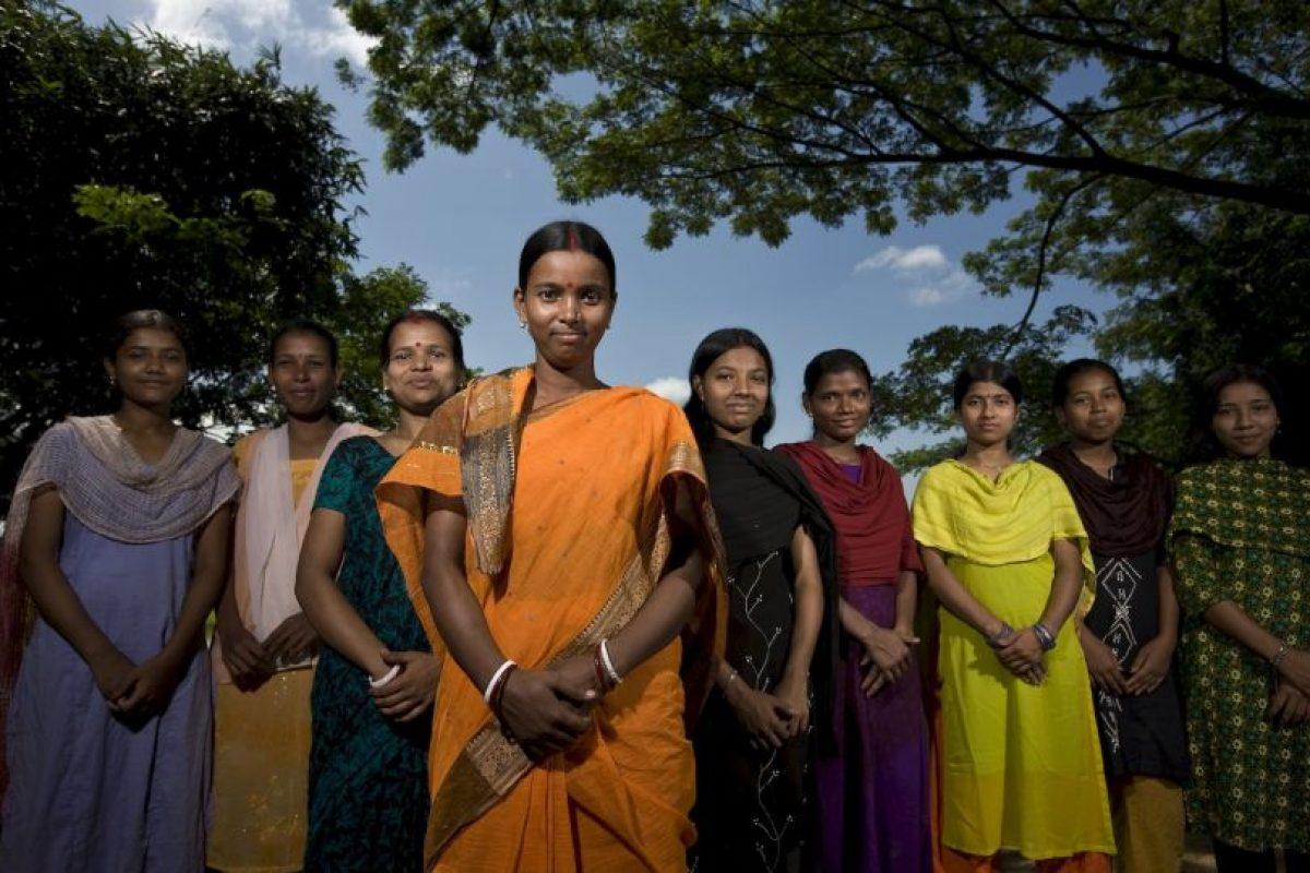 Esta es la representación de Lakshmi, diosa de la prosperidad Foto:Getty Images. Imagen Por: