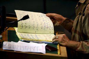 Dos años antes de ser derrocado en la Primavera Árabe, el líder libio asistió a Nueva York, a la Asamblea General Foto:Getty Images. Imagen Por: