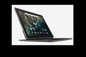 Es quizás el lanzamiento más importante del evento. La tableta de 10.2 pulgadas posee un teclado desmontable y el nuevo Android Marshmallow. Podría competir con el iPad Pro de Apple y las Surface de Microsoft Foto:Google. Imagen Por: