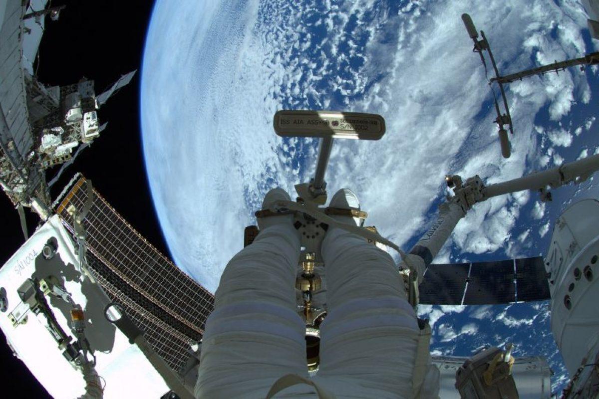 Un astronauta flojeando Foto:Getty images. Imagen Por: