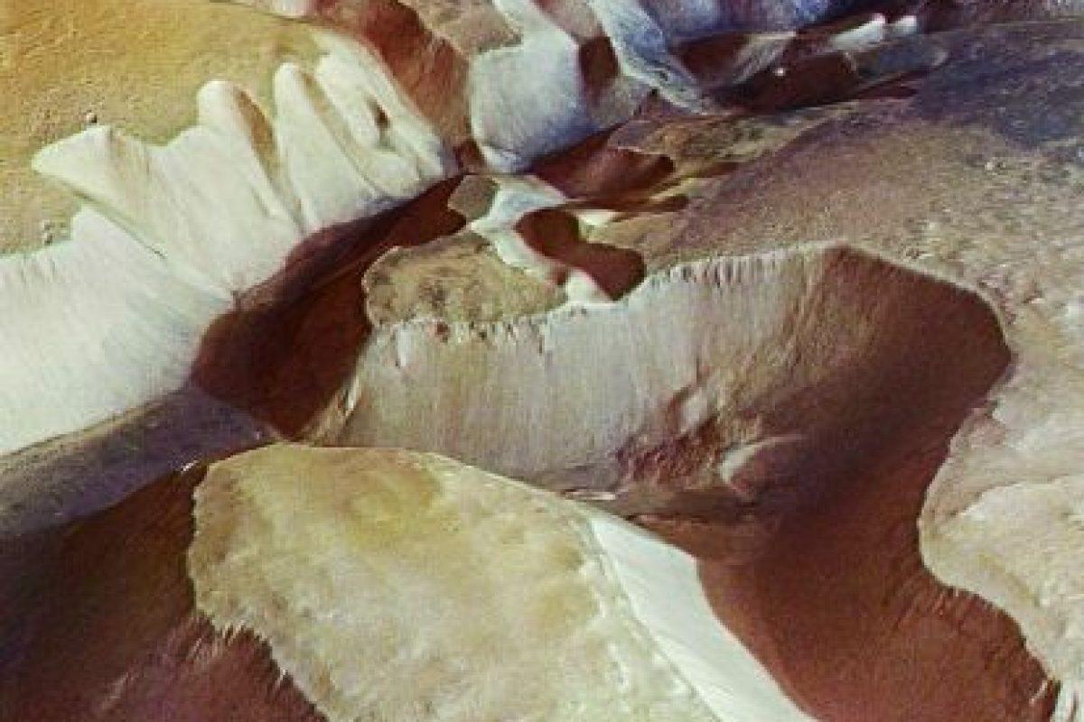 Estas serían montañas marcianas Foto:Getty images. Imagen Por: