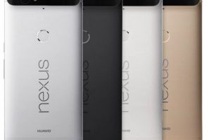 El modelo de lujo de Google tendrá 5.7 pulgadas de pantalla, cámara de 12.3 megapíxeles y lector de huellas dactilares Foto:Google. Imagen Por: