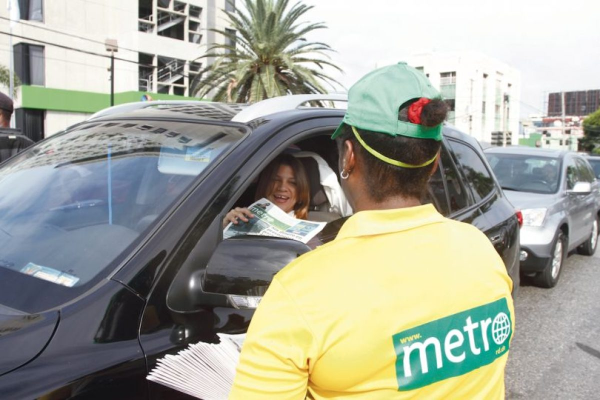 Los usuarios reciben a Metro República Dominicana con mucho agrado Foto:Roberto Guzmán/Metro República Dominicana. Imagen Por: