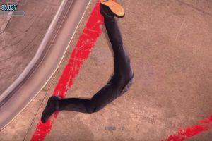 El personaje principal acaba en el suelo de una forma muy extraña Foto:Robomodo/Disruptive Games. Imagen Por: