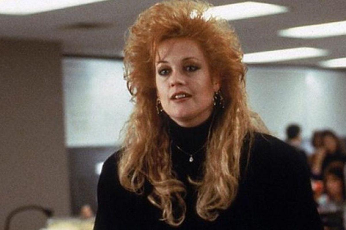 Melanie Griffith la pasó bomba en los años 80 antes de Antonio Banderas. Foto:vía Getty Images. Imagen Por: