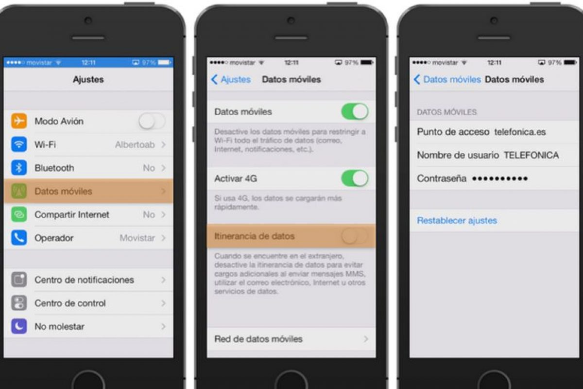 1.- Se solucionó el problema con el ajuste de activación y desactivación del uso de datos móviles Foto:Apple. Imagen Por: