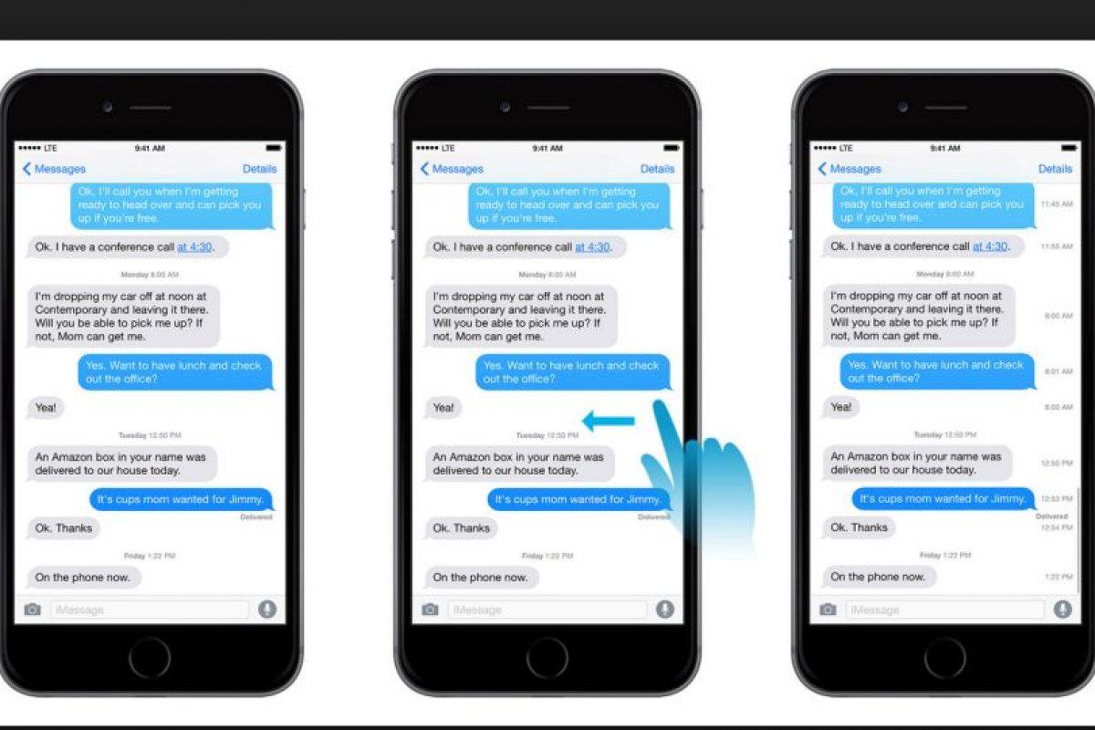 2.- Ahora el error que no permitía activar la aplicación para mensajes oficial de iPhone está resuelto Foto:Apple. Imagen Por: