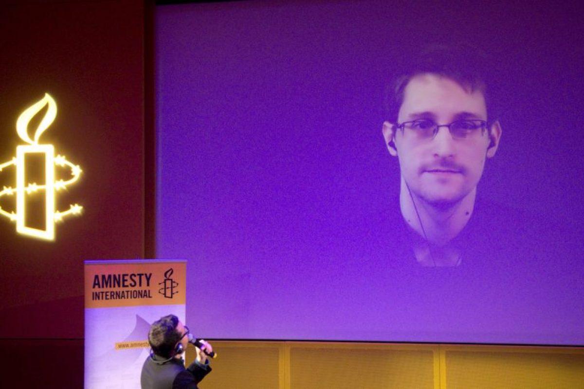 Por esa razón brinda entrevistas por video. Foto:AP. Imagen Por: