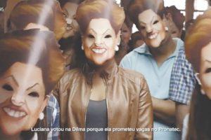 El spot del Partido de la Socialdemocracia Brasileña contra el gobierno de Dilma Rousseff Foto:Foto reproducida. Imagen Por: