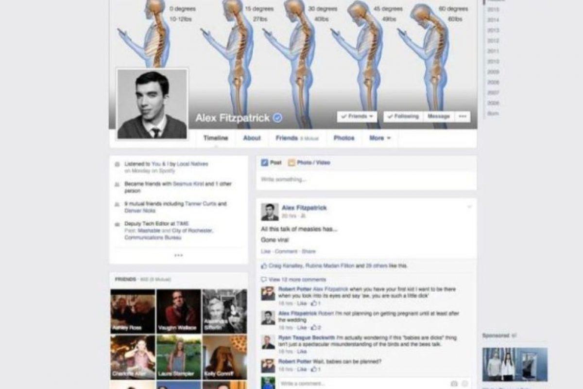 2015. Facebook muestra un nuevo algoritmo para seleccionar noticias y mejores configuraciones de privacidad. Foto:Facebook. Imagen Por: