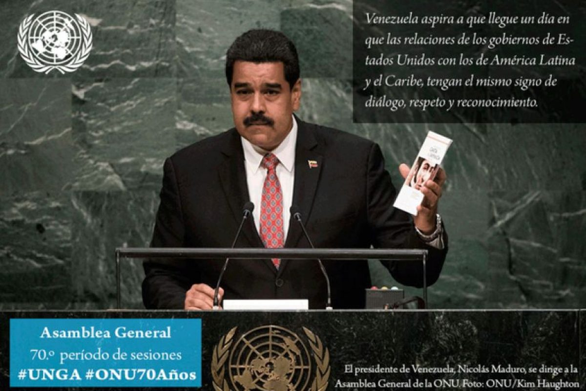 Nicolás Maduro, presidente de Venezuela Foto:Twitter.com/ONU_es. Imagen Por: