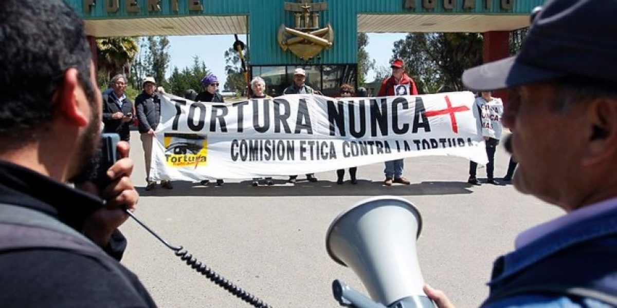 Protestas contra el centro de entrenamiento de efectivos policiales