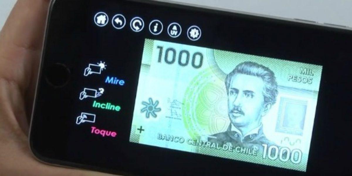 Qué no lo engañen: Banco Central lanza app para reconocer billetes falsos